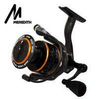 MEREDITH DAFNE KEEN Spinning Reel 5.2:1 2000 3000 4000 Triple Disc Carbon Drag 12KG Max Drag Power Bass Pike Carp Fishing Reels