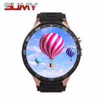 Slimy 3G KW88 Bluetooth Smart Watch Wifi Smartwatch With Android 5 1 MTK6580 Quad Core 512M