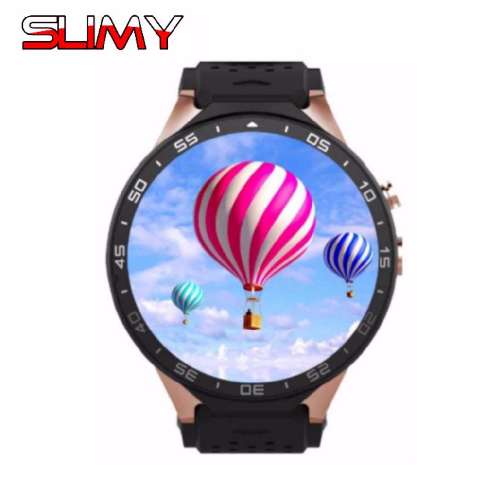 Slimy 3G KW88 Bluetooth Smart Watch Wifi Smartwatch with Android 5.1 MTK6580 Quad Core 512M/4GB for IOS Smart phone watch KW99 2017 new hold mi kw98 smart watch android 5 1 3g wifi gps watch mtk6580 smartwatch for ios android phone pk kw88