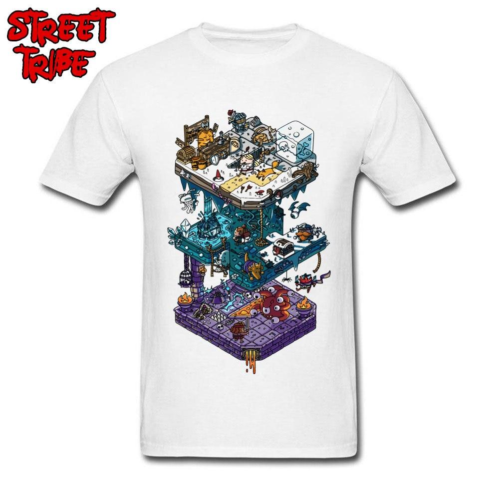 3D Male T Shirt Dungeons & Dragons Design New Man Cotton Short Sleeve Fashion Summer Printing T-shirt Gamer Guys Tshirt DnD