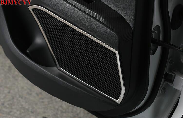 BJMYCYY автомобилей для укладки звук двери украшения Рамка для toyota camry 2018 xv70