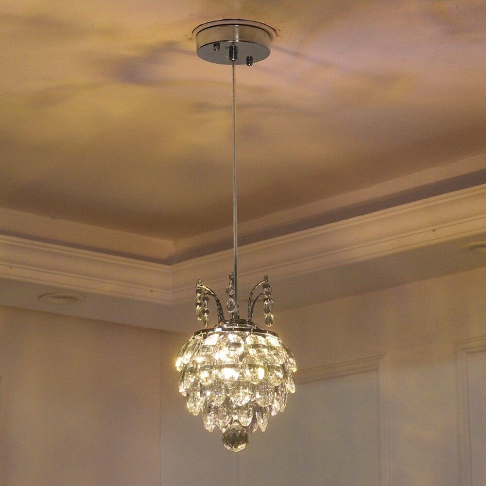 Us 87 12 12 off indoor hanging crystal pendant lights for dining room hotel guest room lustre drop light restaurant bar light kitchen lighting in