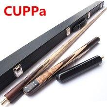 CUPPa высокое качество 3/4 снукер кий s палка бильярдный кий клен валы бильярдная палка 9,8 мм/11,5 мм наконечник с чехол для снукера Кий набор