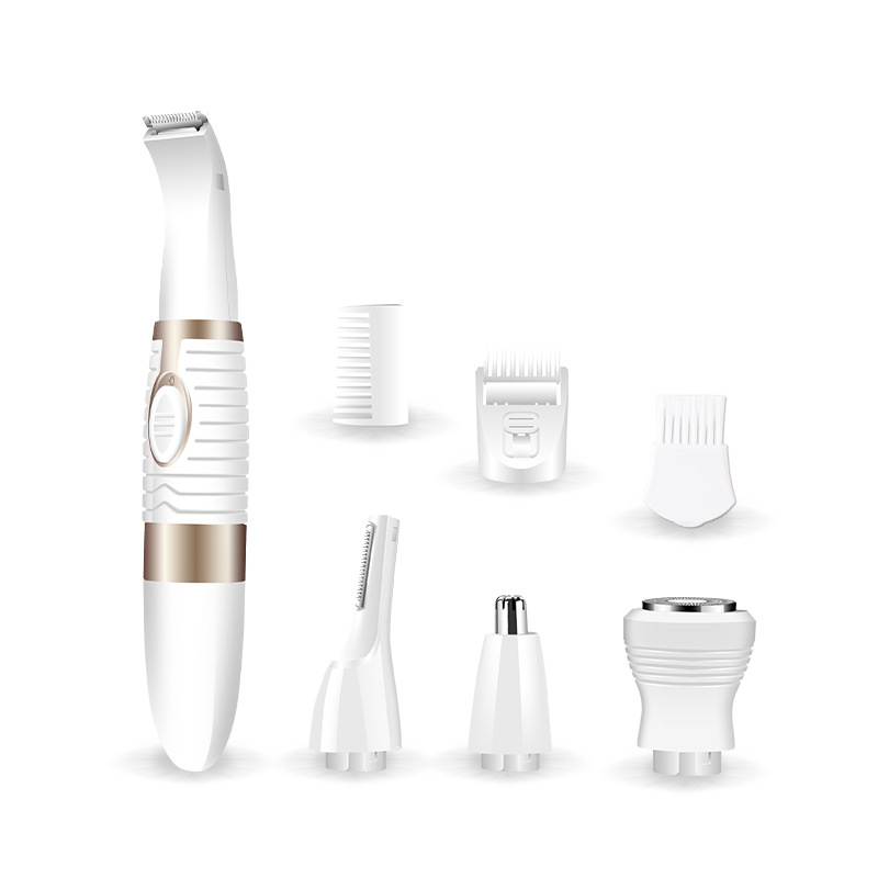 4 in1 Nose Hair Trimmer Eyebrow Beard Trimer for Men Electric Face Care Nose Ear Moustache Epilator Grooming Kit eyebrow grooming kit