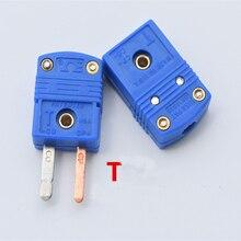 10set SMPW T M/F SMPW T M SMPW F Female male T type socket connector Thermocouple plug original  T Type Thermocouple
