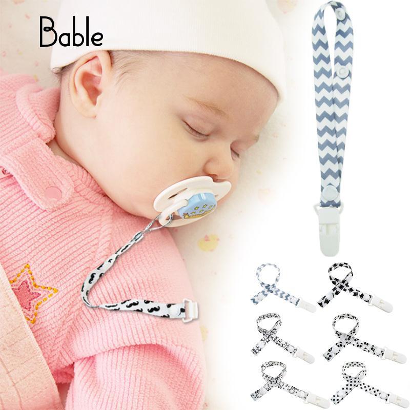 Clip para beb/é Chupete Clips de cadena Chupete Clips para beb/é Apaciguar Clip para chupete Cadena a Pez/ón Cadena para beb/é Multi-Color