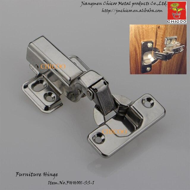 Pintu Hidrolik Engsel Stainless Steel 304 Embed Furniture