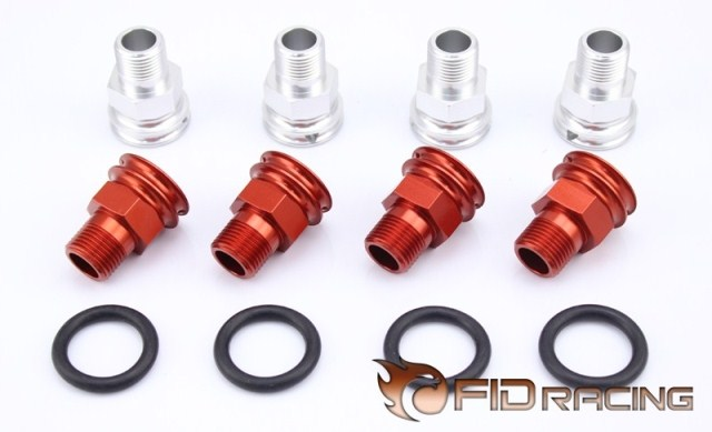 Freeshipping Fid Axle Extenders (rc car parts ,toy) FOR LOSI 5IVE-T LOSI MINI WRC