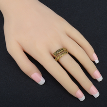 Adjustable tentacle ring stainless steel octopus ring gold plating hand rings for women men Shellhard fashion jewelry