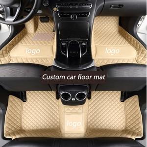 Image 3 - Kalaisike piso automotivo personalizado, acessórios para automóveis, para alfa romeo julia star vio 2017
