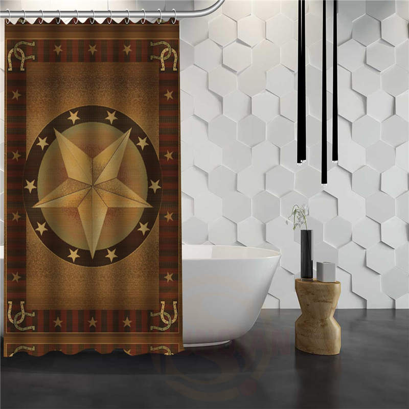 Western Star Shower Curtain
