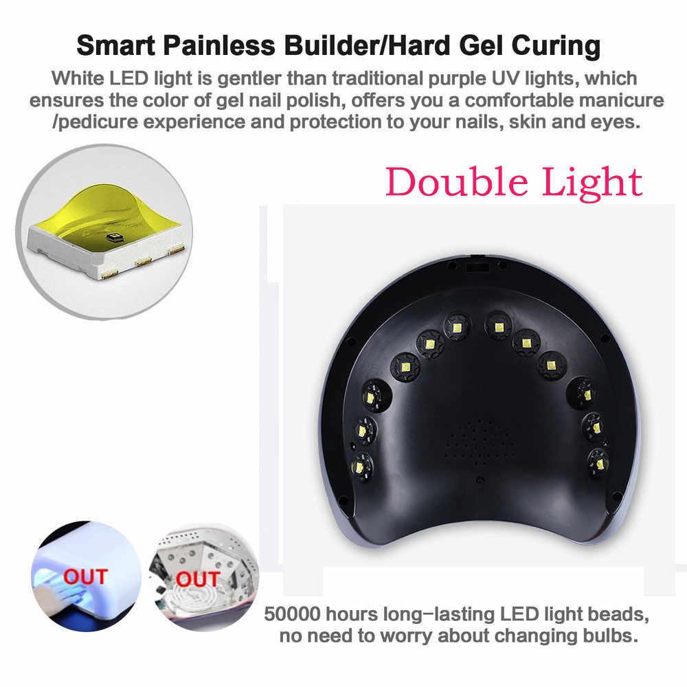 Оборудование для дизайна ногтей 36 Вт Светодиодный УФ гель для ногтей отверждения лампа Сушилка для гель-лака машинка для дизайна ногтей PC & ABS Прямая доставка Aug3
