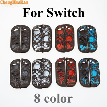 ChengHaoRan 20set Game Console Protective Case for Switch Handle Protection cover NS Handle Non-slip Switch Silicone Sleeve