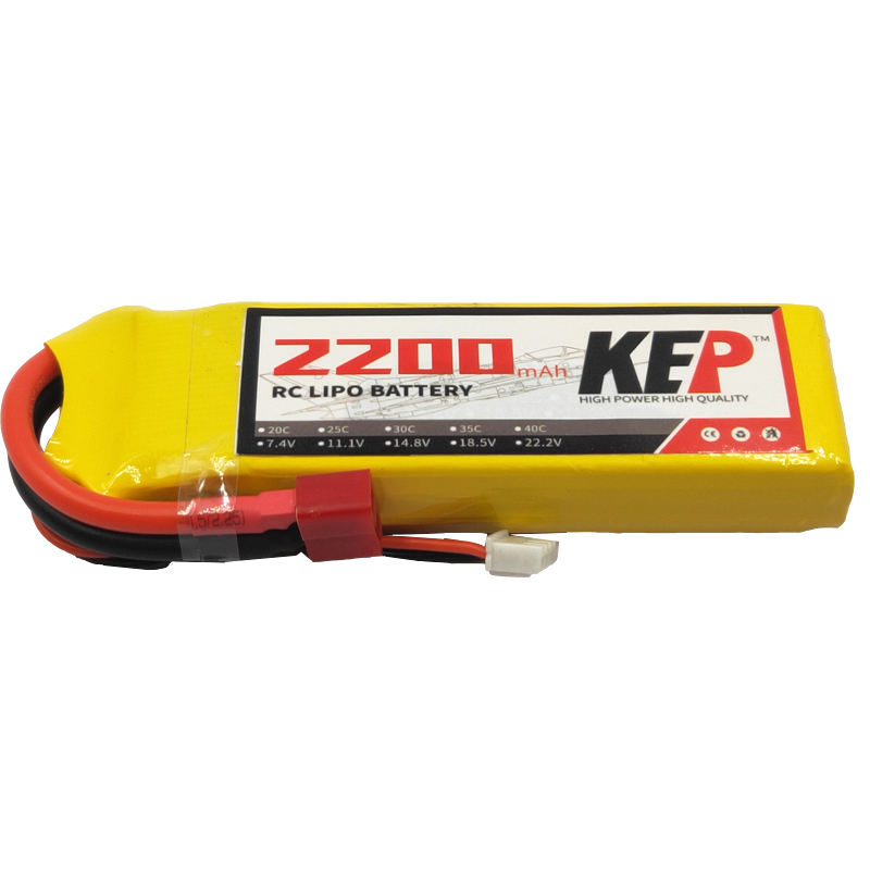 RC <font><b>Lipo</b></font> Battery <font><b>2S</b></font> 7.4V <font><b>2200mAh</b></font> 30C 40C For Quadcopter Helicopter Car Drone Airplane Remote Control Toys Lithium Polymer Battery image