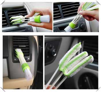 Car sedan SUV air conditioning care cleaning brush For Ford Focus MK2 MK3 MK4 kuga Escape Fiesta Ecosport Mondeo Fusion image