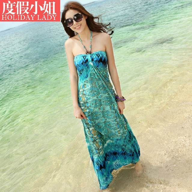 2015 hot sale New Fashion  Sexy dress Print   Milk Slik.Long Dress  Women summer dress Floor-Length
