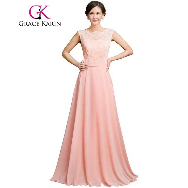 Grace karin vestido de noche de encaje 2017 nueva llegada vestidos ...