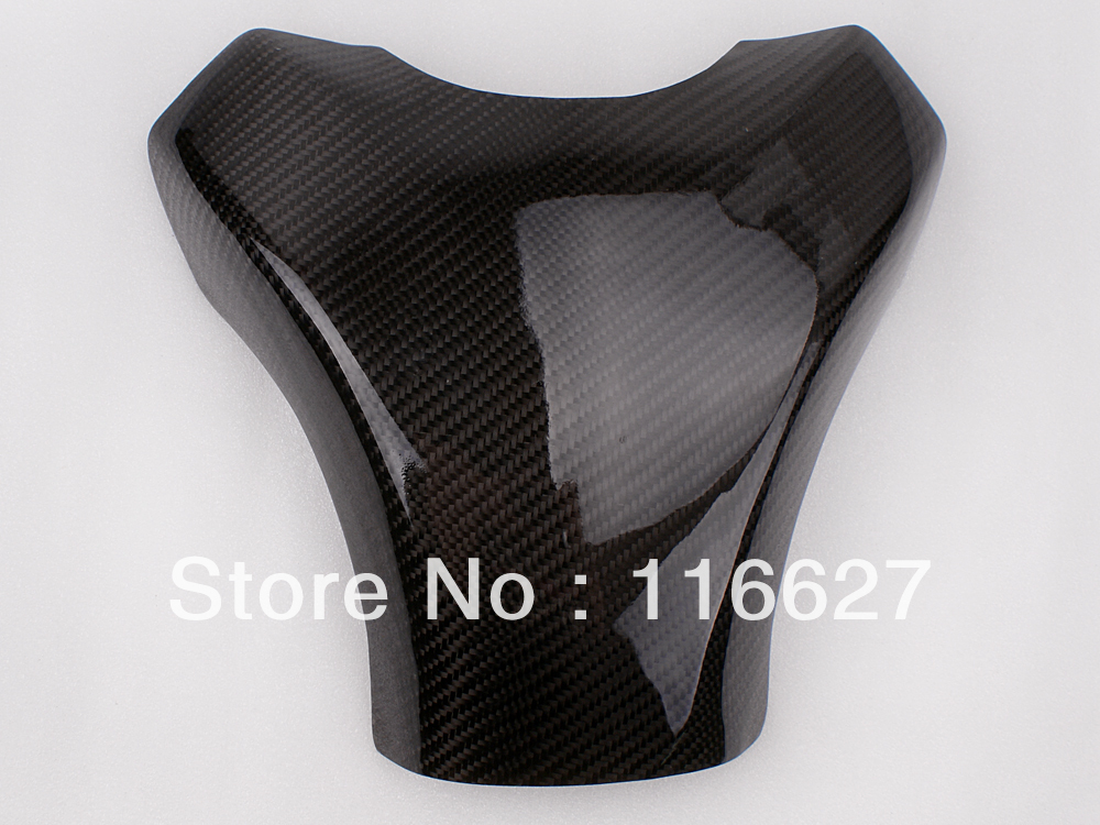 Бесплатная доставка углеродного волокна топливного газа бака протектор Pad щит для Кавасаки ZX10R 2008-2010