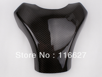 Freeshipping Carbon Fiber Fuel Gas Tank Protector Pad Shield For  2008-2010  Kawasaki ZX10R