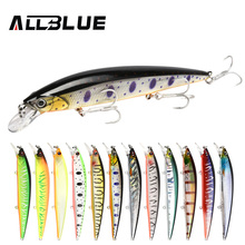 ALLBLUE 2018 Professional Suspend JERKBAIT SHANKS 130SP Fishing Lure 130mm 21.5g Wobbler Minnow Depth 1.5-2m Bass Pike Bait Lure
