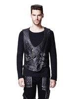 Punk Rave New Products Short Punk Jacket Bevatrons Vest Men Outerwear Coats