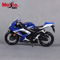Maisto 1:12オートバイモデル用スズキgsx-r750レース車