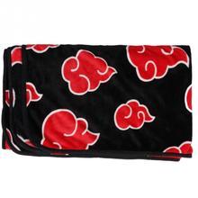 Naruto Red Cloud Coral Fleece Blanket
