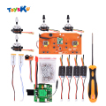 DIY Universal Brushless Upgrade Kit Spare Parts for Syma X8 Series X8/X8W/X8G/X8C/X8HW/X8HC/HUANQI 899 Helicute Quadcopter