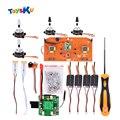 Diy universal brushless kit de atualização peças de reposição para syma série x8 x8/x8w/x8g/x8c/x8hw/x8hc/huanqi 899 helicute quadcopter