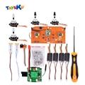 Diy universal sin escobillas kit de actualización de piezas de repuesto para syma serie x8 x8/x8w/x8g/x8c/x8hw/x8hc/huanqi 899 helicute quadcopter
