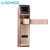 Digital Biometric Fingerprint Door Lock Electronic Lock With Deadbolt Red Antique Copper Zinc Alloy L S