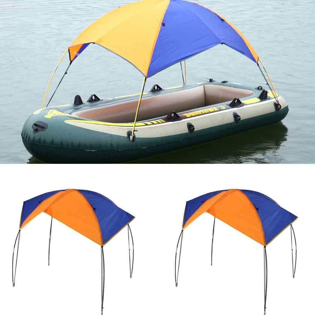 2 4 person Inflatable Boat Tent Boat Shelter Kayak Accessories