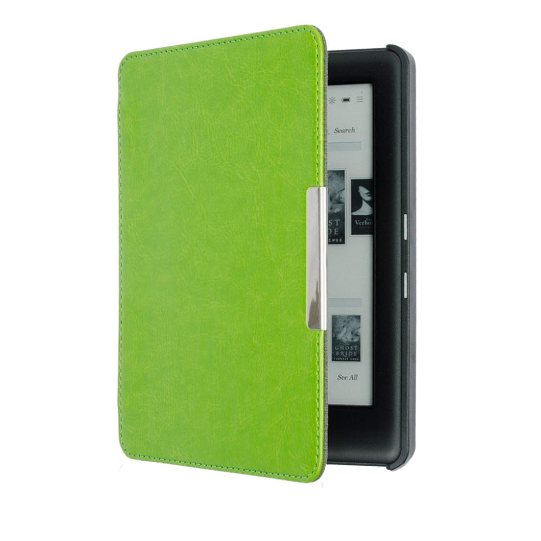 Case for KOBO GLO HD 6.0 eReader Magnetic Auto Sleep Cover Ultra Thin Hard Shell (Green) magnetic auto sleep slim cover case hard shell for kobo glo hd 6 0inch dec21