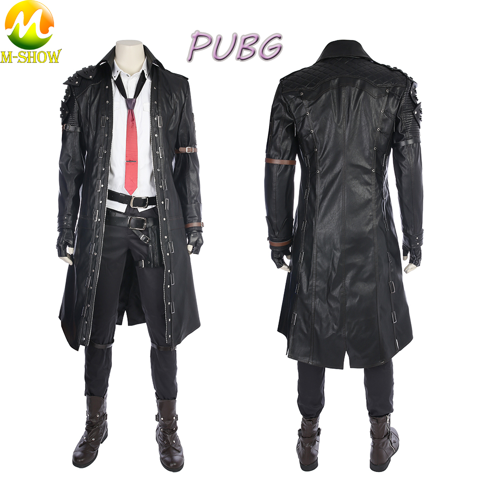 Playerunknown's Battlegrounds Cosplay Costume Game Character PUBG Halloween Cosplay Costume Custom Made