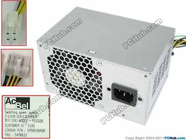 Emacro Acbel Polytech PCE028 54Y8933 Server - Power Supply 180W PSU For Lenovo D5055 emacro fsp group inc fsp650 80glc server power supply 650w psu emacro sever computer 650w 100 240v 10 5a 50 60hz