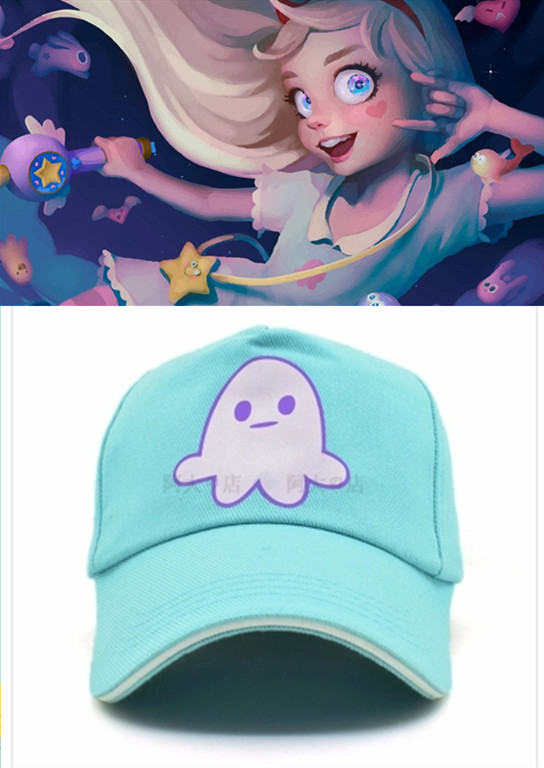American Anime Star vs. Forces of Evil Star Princess Butterfly Blue Hats Cosplay Costume Adjustable Lovely Octopus Cap