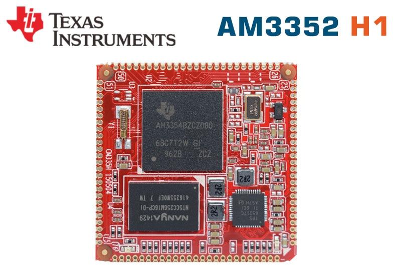 TI AM3352Nand Core Module AM335x Developboard AM3358 BeagleboneBlack AM3354 Embedded Linux Computer POS Cash Register IoTgateway