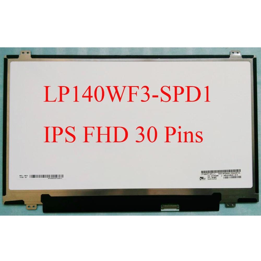 IPS Matrix for LG 14 0 LED Display LCD Screen LP140WF3 SPD1 LP140WF3 SPD1 Matte 30Pin