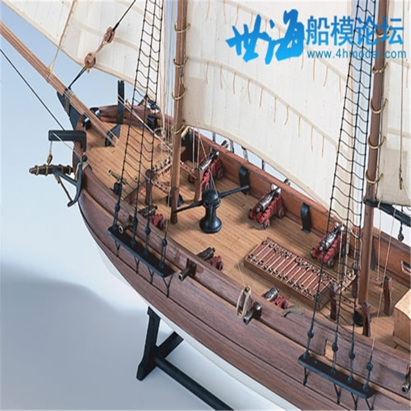 Us 1177 50 Offship Model Kit Diy Educational Games For Grownups Wooden Ship Model Laser Cut Scale 160 Blackbeards Pirate Ships Adventures In