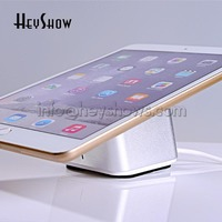 10xTablet security stand Ipad display holder andriod anti theft alarm apple mount charging rack devices for retail shop