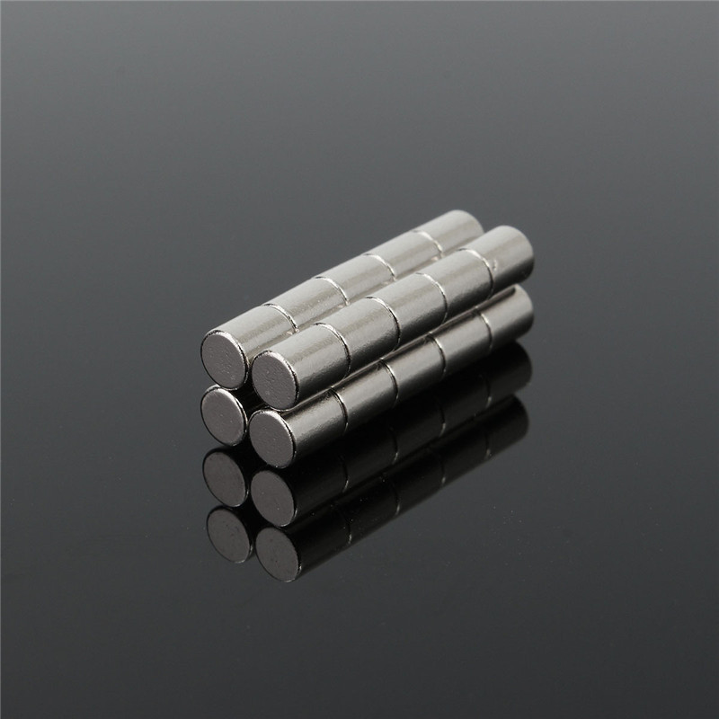20pcs 4mm x 5mm N52 Strong Round Magnets Neodymium Rare Earth Permenent Magnets Disc Cylinder Home Craft 4 x 5mm Magnet 4 7 5mm neodymium nib magnet spheres with steel case silver 216 piece pack