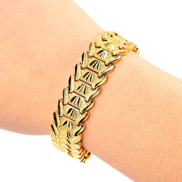 Trendy Plated 24K Gold...