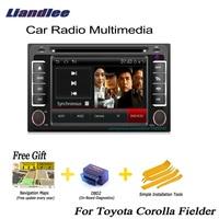 Liandlee для Toyota автомобиль corolla fielder 2000 ~ 2013 2 Дин Android gps навигатор карты радио CD DVD плеер автомобиля Аудио Видео Стерео