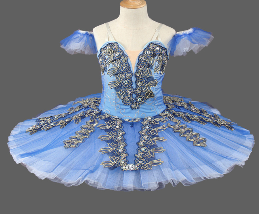 1ab847d2b062 Professional Ballet Tutu Costume Ballet Tutus Skirt Classical Ballerina  Stage Costume Blue Bird Variation from Sleeping