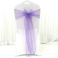 Накидка из органзы на стул для свадьбы Вечерние НКИ накидка