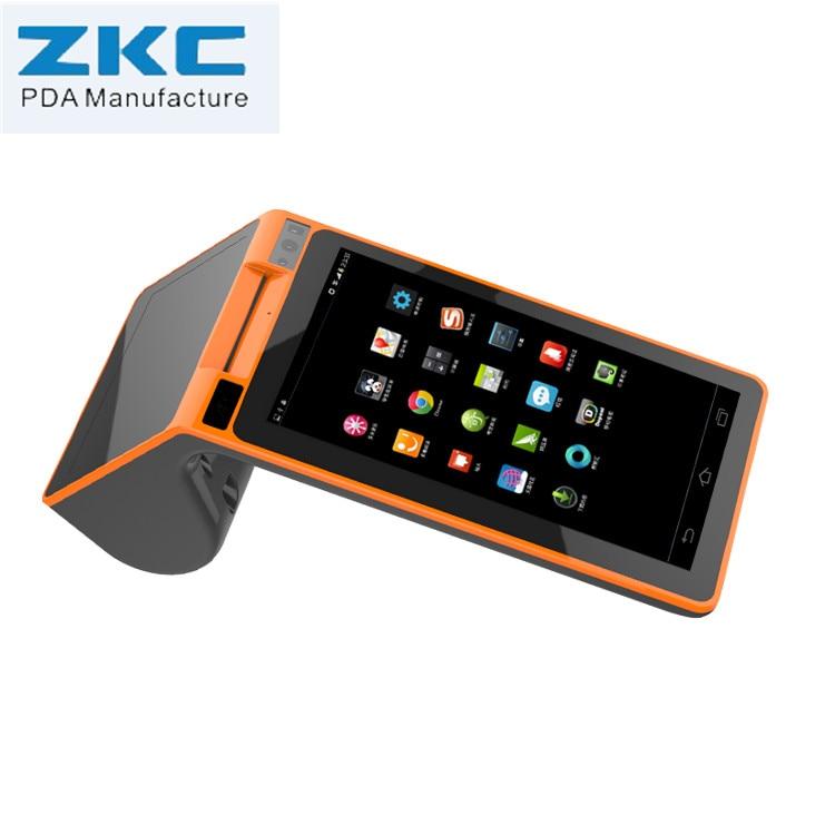 Alle-in-einem Smart Mobile Pos-terminal, Pda Barcode Scanner, 3g Wireless Handheld Pda