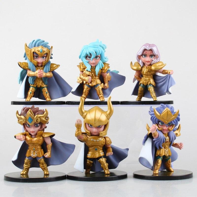 6pcs/set Bandai Saint Seiya Generation Gold Saints Boxed Decoraction Model Toy видеоигра бука saints row iv re elected