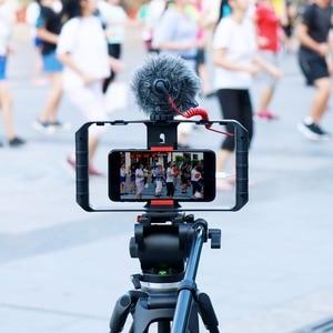 Image 2 - Ulanzi วิดีโอสมาร์ทโฟน U RIG 3 Hot Mount สำหรับไมโครโฟน Light Grip สำหรับ BOYA Micro Ulanzi สำหรับ facelook Live