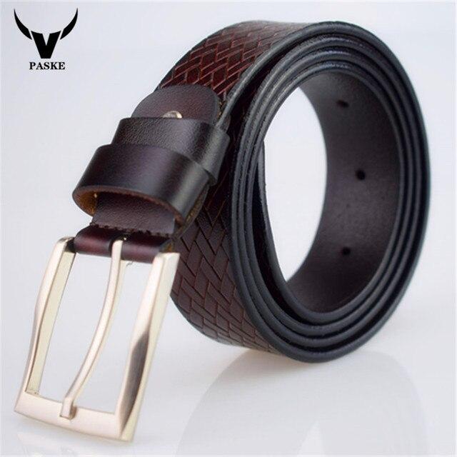 2017 Новый горячий мужские кожаные пояса черный пряжкой ремни для мужчины дизайнер известный пояс роскошный мужской ремень 130 см ceinture homme