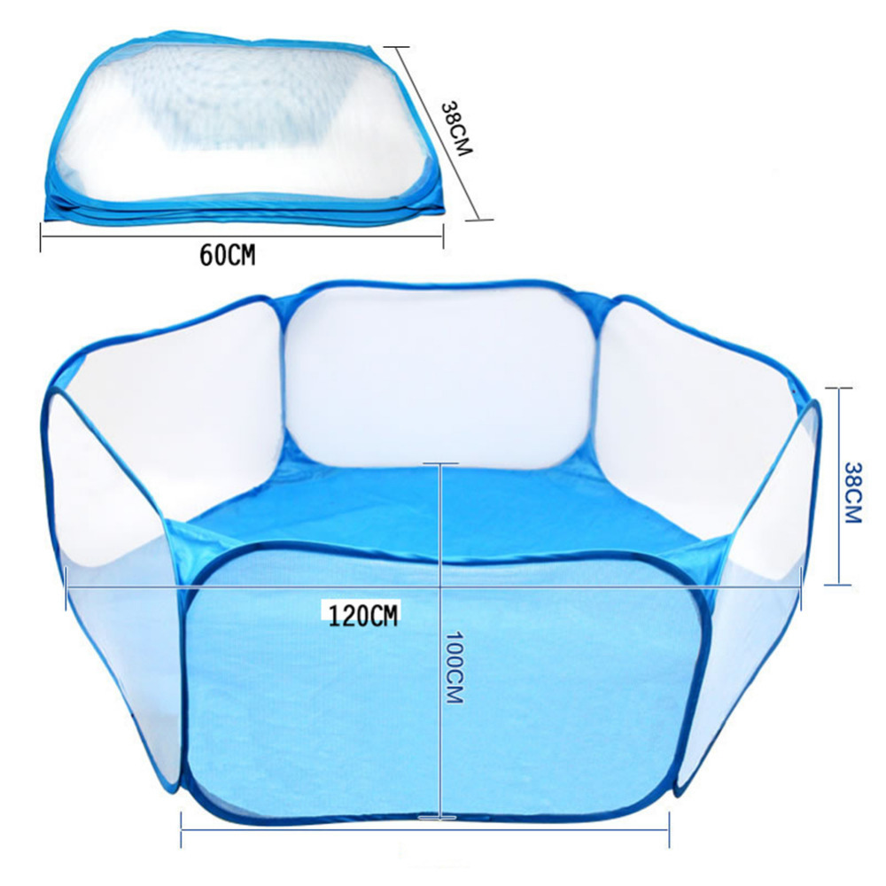 New Kids Ball pool Pit Outdoor Indoor Playpens Portable Foldable Baby Play Tent Children Toy Ocean Balls Pool With Carry Tote